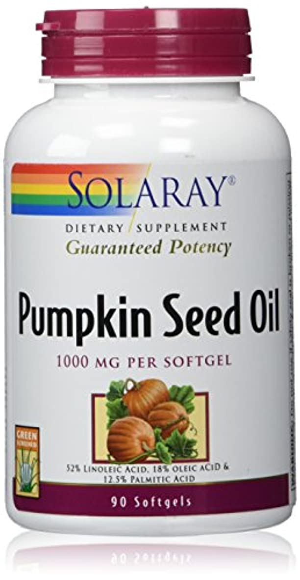 反対にローン手綱Solaray - 効力を保証パンプキン シード オイル 1000 mg。1ソフトジェル