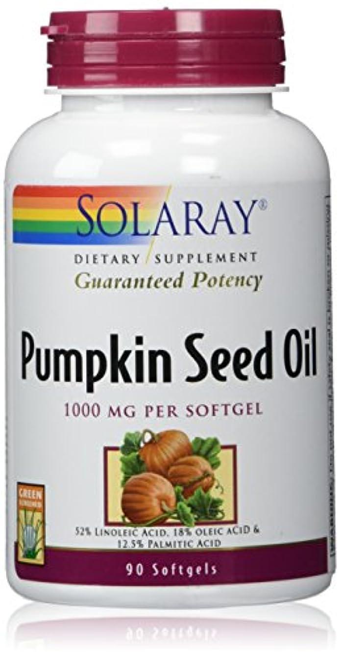 クラックサイバースペース舞い上がるSolaray - 効力を保証パンプキン シード オイル 1000 mg。1ソフトジェル