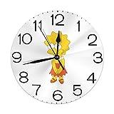 リサシンプソン 壁掛け時計 掛け時計 丸い デジタル 連続秒針 静音 電子掛け時計 家の装飾 オフィス レト デスクトップの装飾 ギフト