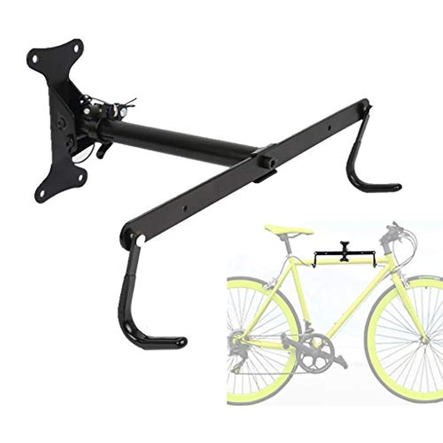仕様誘惑する微妙自転車ラック バイクラックウォールマウント - ガレージや家庭用の屋内自転車収納スタンド  - ロードまたはマウンテン自転車用ホルダー - 50kg - 横型サイクリングハンガー