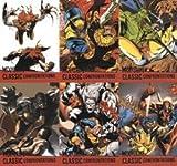 X-Men Origins Wolverine - G1-G6 Classic Confrontation Chase Card Set