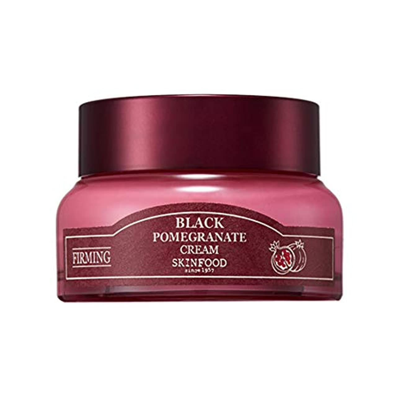 保護する羨望中国Skinfood 黒ザクロクリーム(しわ防止効果) / Black Pomegranate Cream (Anti-Wrinkle Effect) 54ml [並行輸入品]