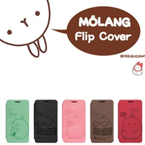 iPHONE5 ケース/ iPHONE5 カバー/ アイフォンケース/Molang Flip Diary/ iphone5/ 保護カバー/【iPad/iPhone アクセサリー】