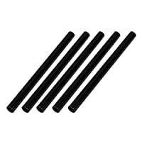 クワッドローターブラック用DealMuxの5pcsのM3 x 70ミリメートルラウンドアルミ柱合金のスタンドオフスペーサースタッドファスナー