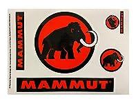 MAMMUT ( マムート )ステッカー LOGO WT/BK