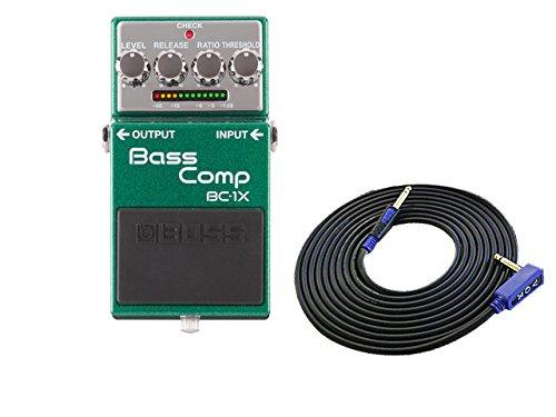 [해외]BOSS Bass Comp BC-1X + 3m 케이블 VOX VGS-30 세트/BOSS Bass Comp BC - 1 X + 3 m cable VOX VGS - 30 set