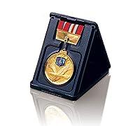 FujiPrize スタープレート交換式 表彰メダル【アイスホッケー】 銀 XMC-60SB 紺ケース