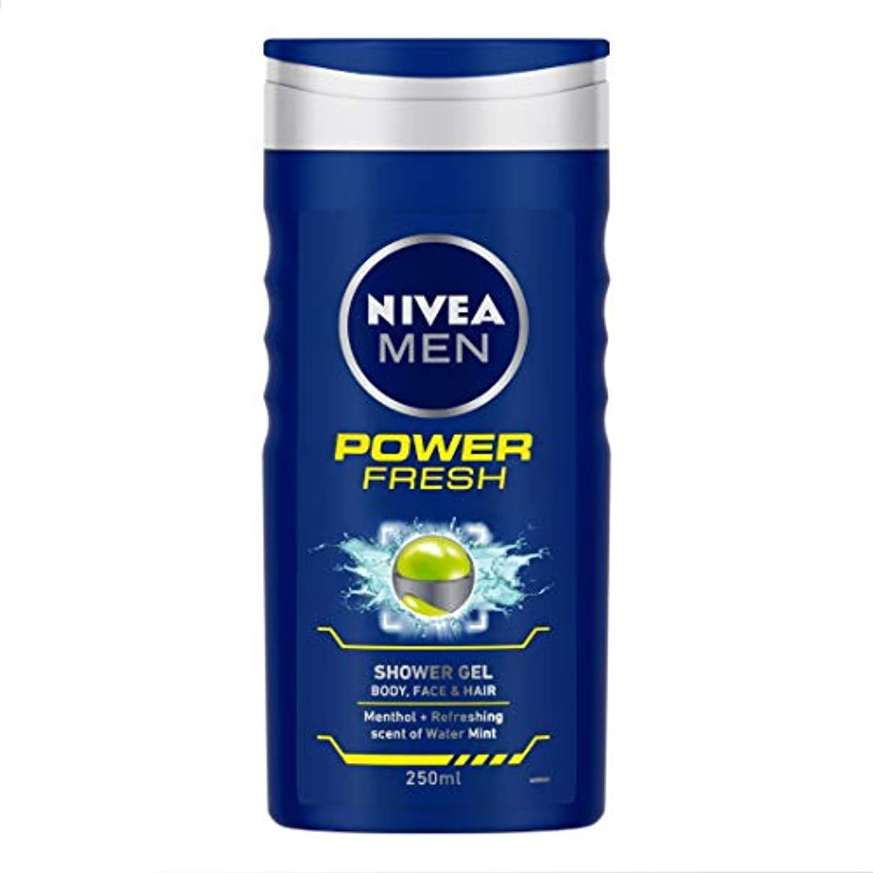 早める回想チャペルNivea Men Shower Gel - Power Refresh (250ml) ニベア男性のシャワージェル - 電源リフレッシュ( 250ミリリットル)