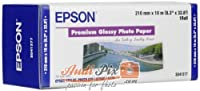 Epson Premium Glossy Photo Paper Roll, 210 mm x 10 m, 255g/mツイ