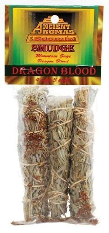 じゃがいも高めるフォークDragon 's Blood Smudge Stick 3 - Pack