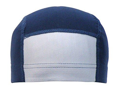 [해외]아스나로 (모자 캡) 수영모 아이 메쉬 어린이 명찰 부착 무지 수영복 L (54-59cm) 감색/Asunaro (Hat | Cap) Swimming Cap Children`s Mesh Kids` Narrow Tag Plain Swimwear L (54 - 59 cm) Navy