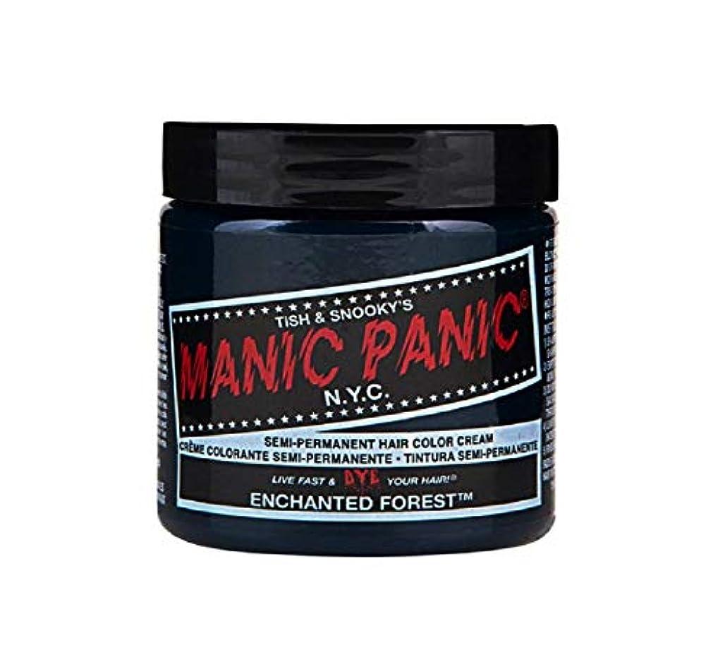 保険をかける十つぶすマニックパニック MANIC PANIC ヘアカラー 118mlエンチャンティッドフォレスト ヘアーカラー