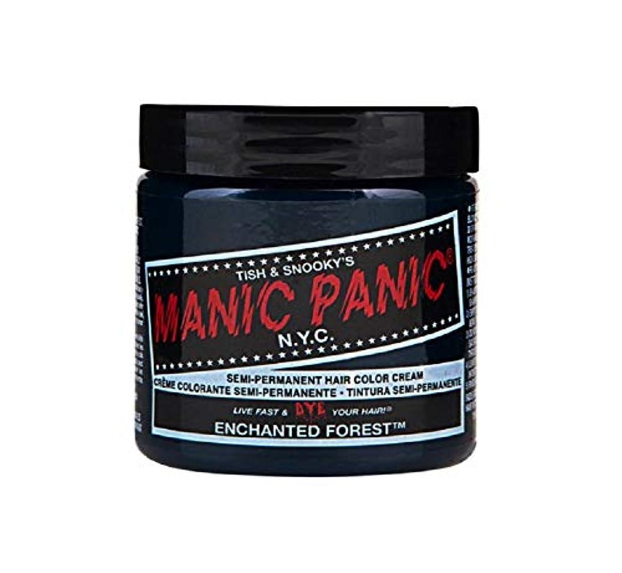対処するグレートオーク先のことを考えるマニックパニック MANIC PANIC ヘアカラー 118mlエンチャンティッドフォレスト ヘアーカラー