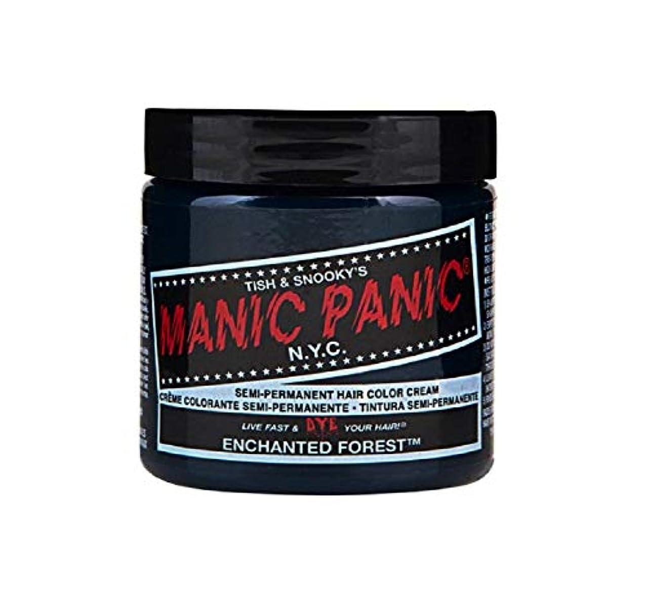 吐き出すペア遷移マニックパニック MANIC PANIC ヘアカラー 118mlエンチャンティッドフォレスト ヘアーカラー