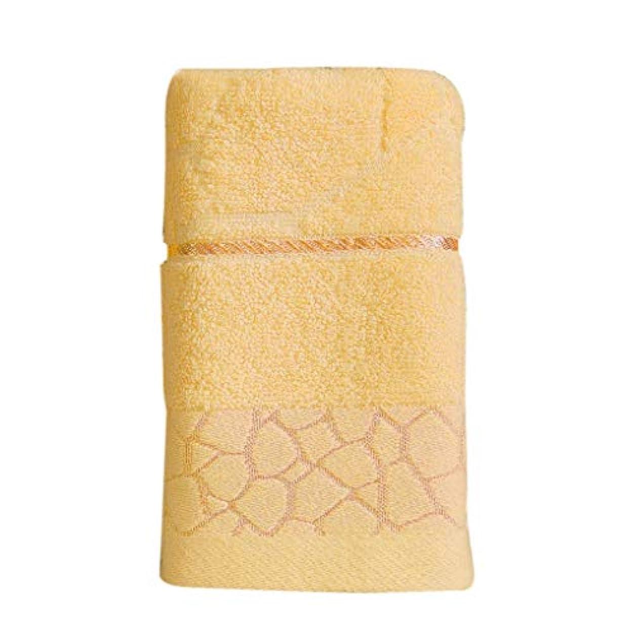 窓を洗う拒否構造的Maxcrestas - ウォーターキューブパターンピュアコットンタオルビーチバース吸収乾燥布