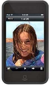 iJacket iPod touch用シリコンケース 液晶保護シート付 ブラック RX-IPS1GTOB