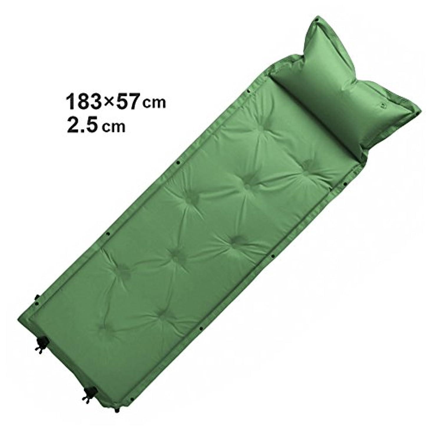 空ほこりオリエンテーションスプライス軽量自動インフレータブルエアマットマットレス寝袋マットキャンプマットエアマットキャンプマット