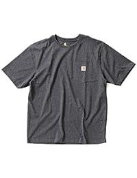 Carhartt (カーハート) ポケット付き半袖Tシャツ メンズ CTK87