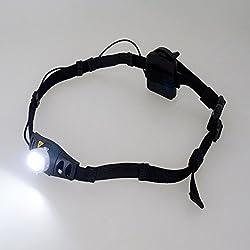 ReUdo ランニングライト 軽量ウエストベルトタイプ 照射角40度で30m先まで路面がはっきり見える RE-RNL2