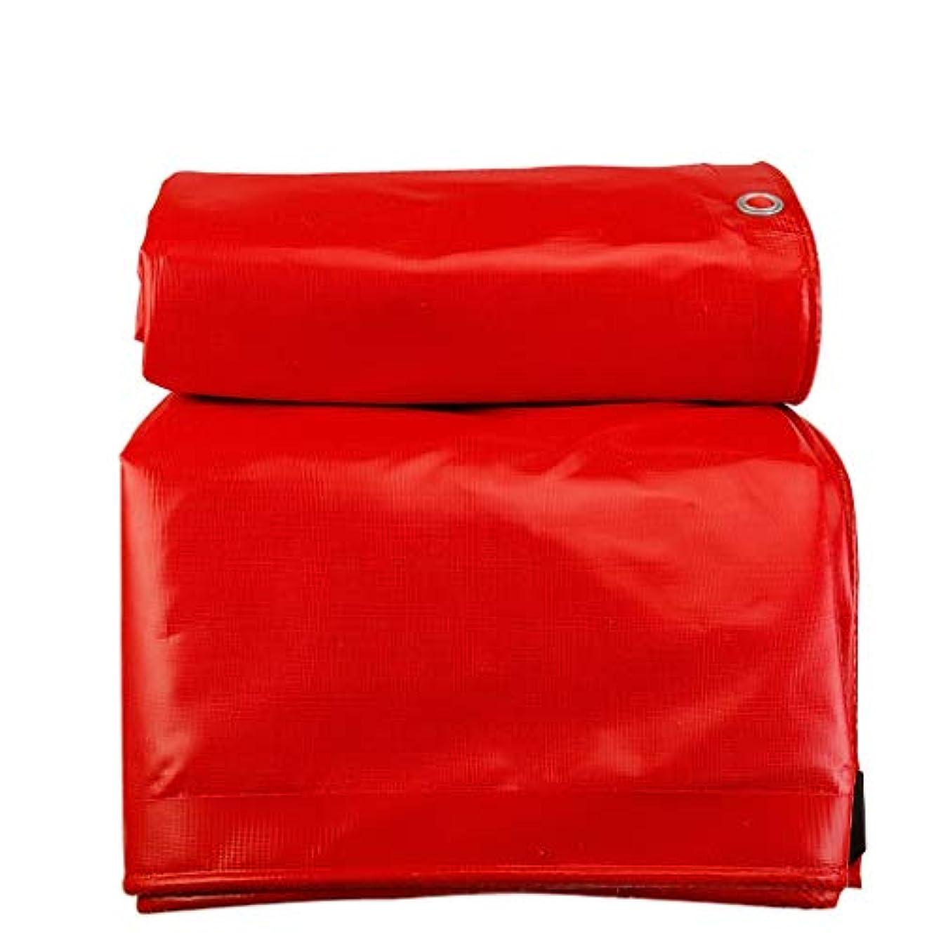 果てしない居心地の良い顕著赤い防雨防水シート肥厚日焼け止め屋外トラックトラック分離ホットサンシェードキャノピー防水シート400×600センチ (サイズ さいず : 400×800cm)