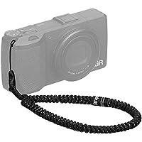 HAKUBA カメラストラップ STRAPS リストストラップ スリム コンパクトカメラ・チェキ(instax)・スマートフォン用 パラコード編み スパークルブラック KSTPS-WL1-SPB