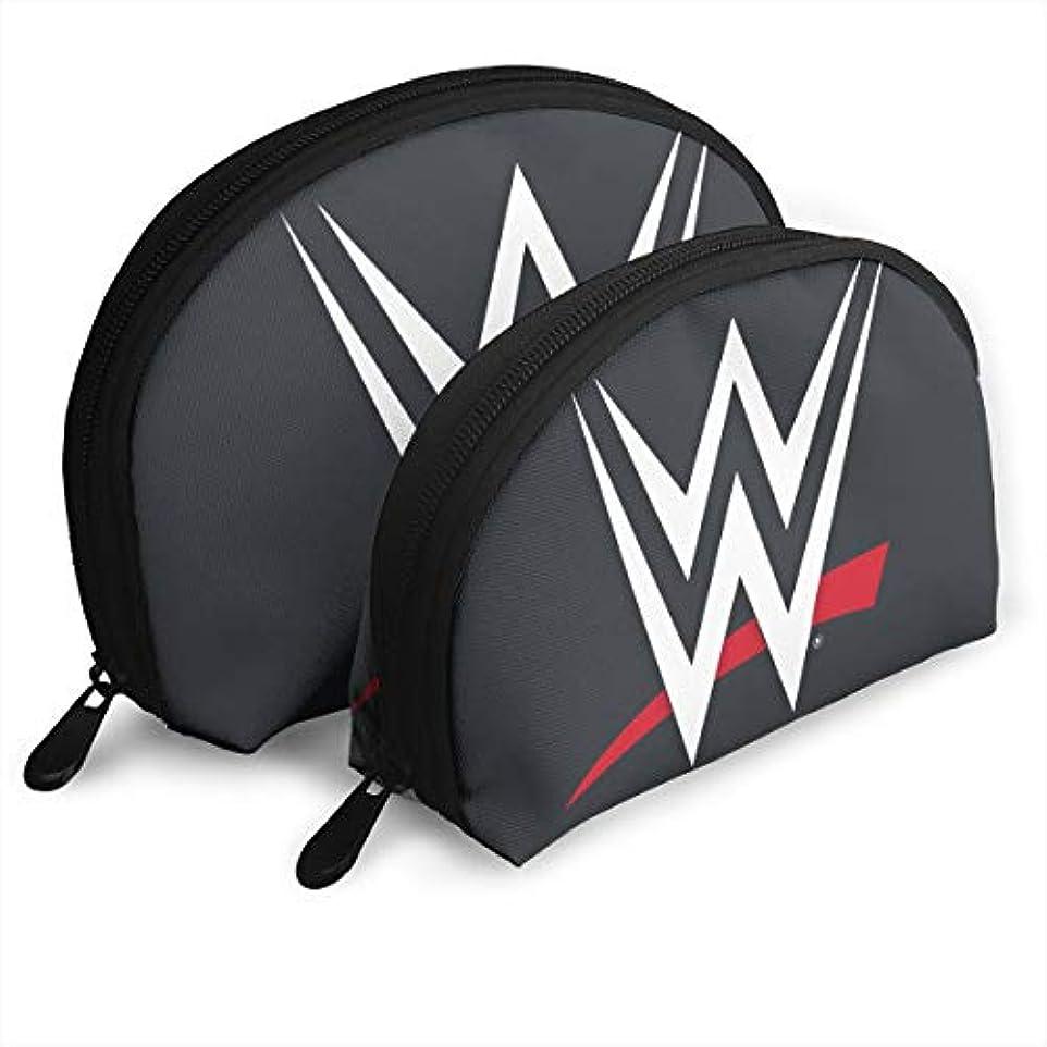 トラック粘性のキャベツ収納袋 コスメ袋 貝殻型 親子ポーチ 化粧品入れ WWE ロゴ 品質保証 軽い 大容量 普段使い 旅行 温泉 機能的 贈り物