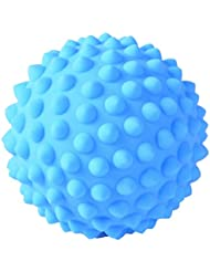 D DOLITY マッサージボール PVC製 約9 cm 3色選べ - 青, 説明のとおり