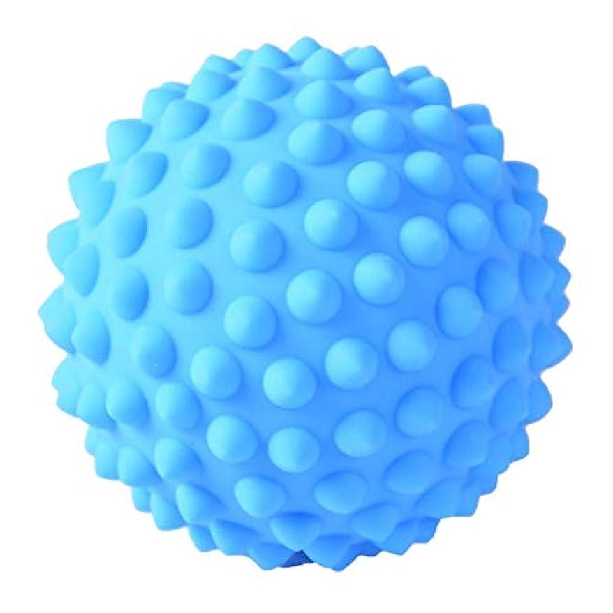 古くなったデザート位置するマッサージボール PVC製 約9 cm 3色選べ - 青, 説明のとおり
