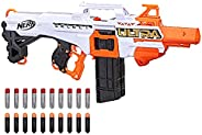 Nerf Ultra Select Fully Motorized Blaster, Fire for Distance or Accuracy, Includes Clips and Darts, Compatible