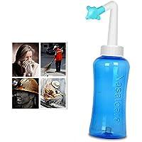 Lifepartner 鼻うがい 鼻洗浄器 アレルギー性鼻炎 鼻づまり ノーズクリーニング 花粉症 蓄膿症などの予防や対策に 輸入品 300ml (1)