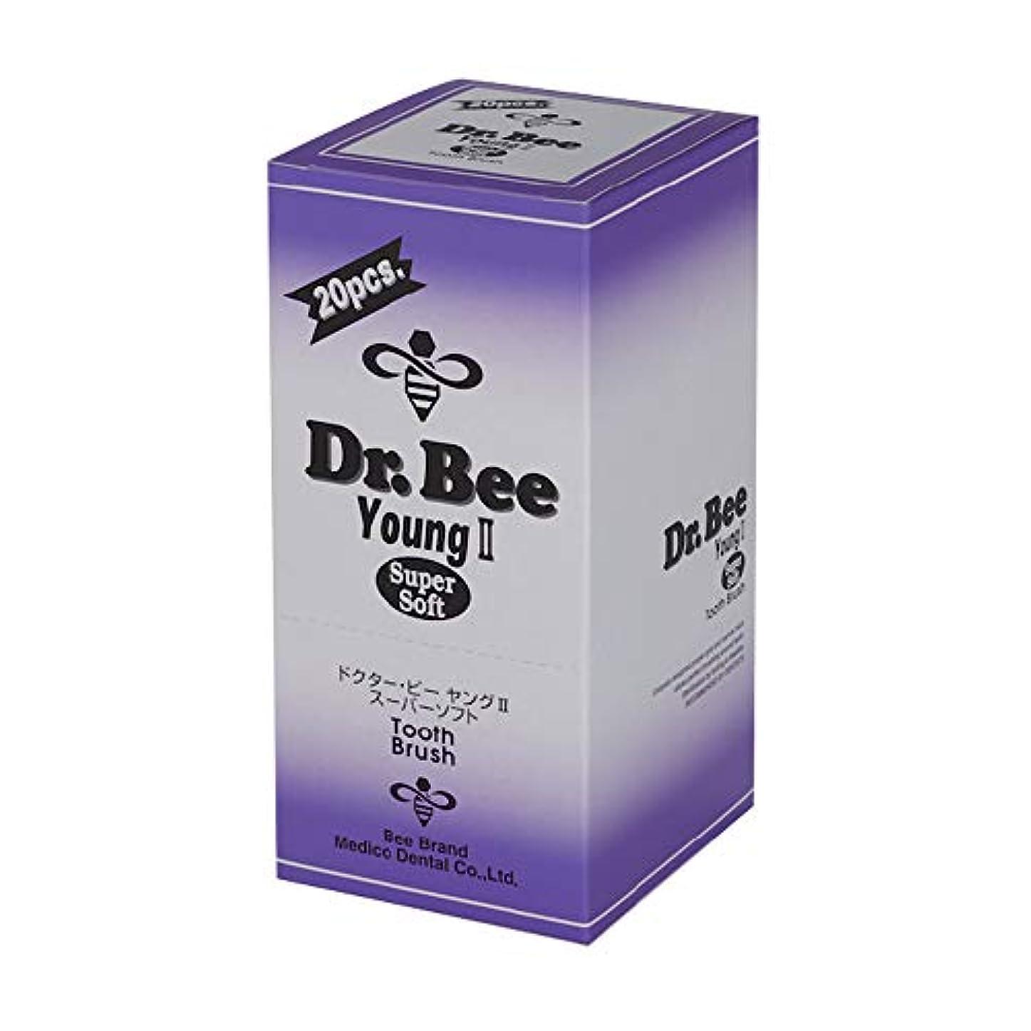 外交問題雲行政Dr.Bee ヤングⅡ スーパーソフト 20本入り