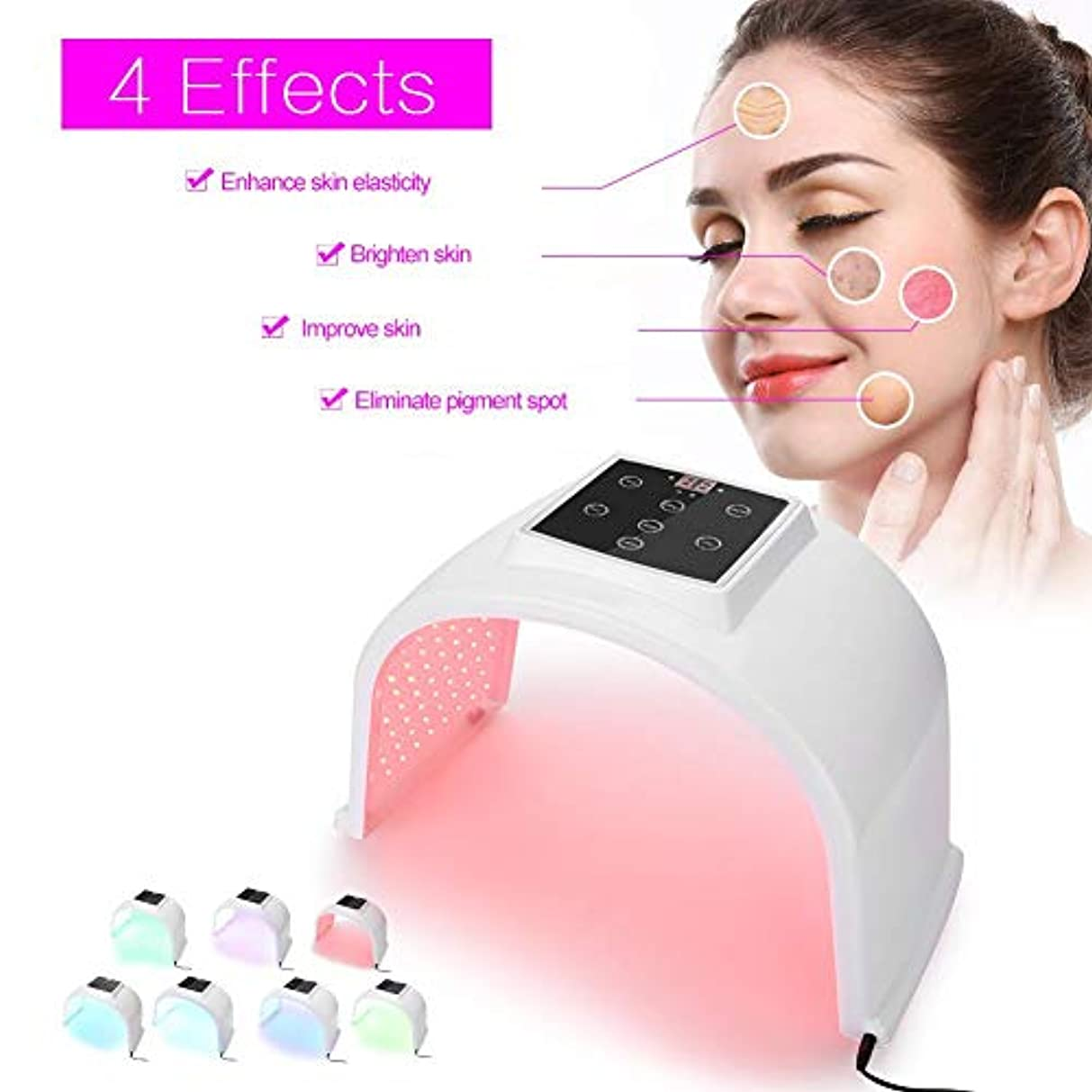 フォームバウンス王位Simlug 7色PDT皮膚若返りマシン、PDT再生美容セラピーマシン-ゴミの山ではなく、本当に良質の製品(US)