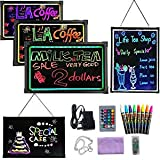 Sensory Acrylic LED Message Writing Board Illuminated Light Dry Erase Board Kids Drawing Painting Board Doodle Graphics Table