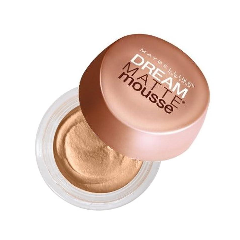 実業家算術まっすぐにする(6 Pack) MAYBELLINE Dream Matte Mousse - Creamy Natural (並行輸入品)