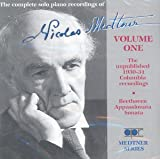 Medtner: Complete Solo Piano Recordings, Vol.1 画像