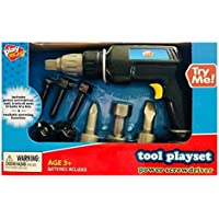 Play RightツールPlayset Power Screwdriver