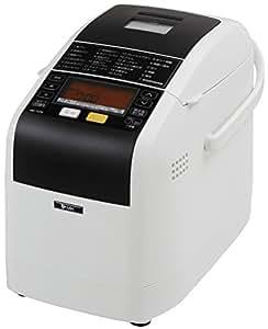 エムケー精工(MK精工) 自動ホームベーカリー ふっくらパン屋さん 1斤/1.5斤選択 (米粉/天然酵母対応) [残りごはんでパンがつくれる] ホワイト HBK-152W