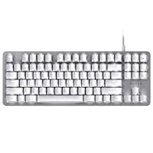 Razer BlackWidow Lite Mechanical Tenkeyless Keyboard, Mercury White