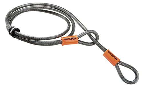 KRYPTONITE(クリプトナイト) ロック クリプトフレックス ケーブル 2,130mm LKW12700
