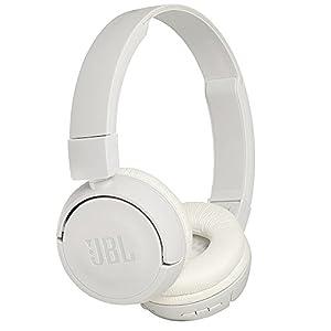 JBL T450BT Bluetoothヘッドホン 密閉型/オンイヤー/折りたたみ ホワイト JBLT450BTWHT 【国内正規品】
