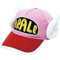 アラレちゃん 帽子 大人用 キャップ フリーサイズ ピンク RM-4064