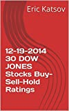 12-19-2014 30 DOW JONES Stocks Buy-Sell-Hold Ratings (English Edition)