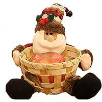 House-by クリスマス飾りのお菓子箱のキャンデーかご キャンディーバスケットのクリスマス装飾スナックボックス