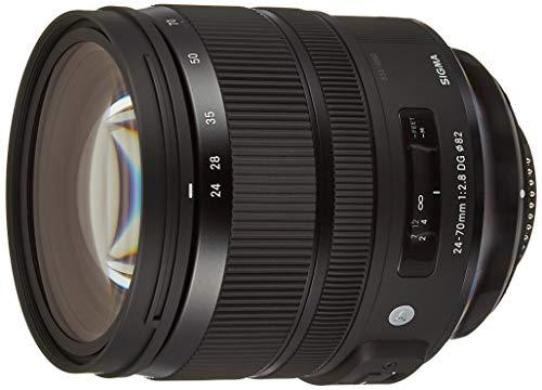 SIGMA 標準ズームレンズ Art 24-70mm F2.8 DG OS HSM ニコン用 フルサイズ対応