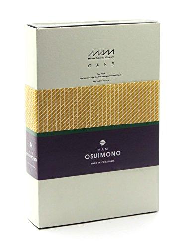 MAM OSUIMONO-SET(お吸い物:NORI×1個 TO-FU×2個 TORORO-KONBU×1個 YUBA×2個)
