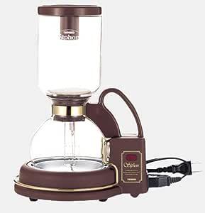 TWINBIRD サイフォン式コーヒーメーカー カフェタウン CM-851BR