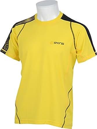 (スキンズ)SKINS ランニング 半袖Tシャツ SRS2601 [メンズ] YEL M