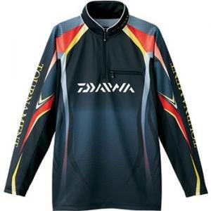 ダイワ トーナメントドライシャツ DE-7403 ブラック
