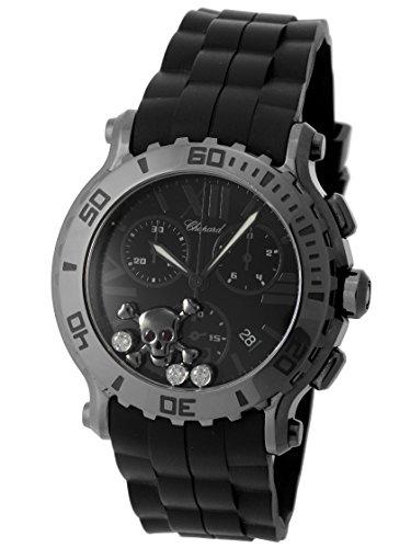 """[ショパール] CHOPARD 腕時計 ハッピースポーツ クロノグラフ""""スカル・ダイヤモンド"""" 288499-3017 [中古品] [並行輸入品]"""