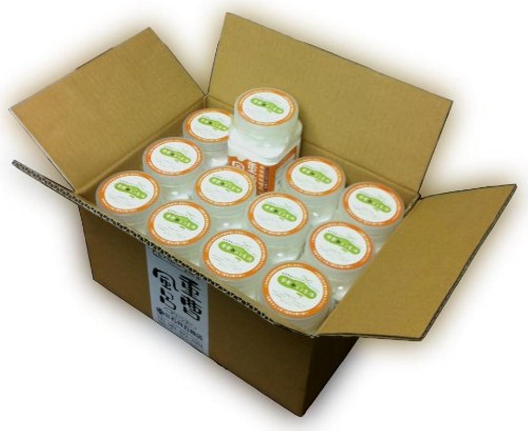 手つかずの抵抗する台風入浴用化粧品 「重曹風呂」 700g スプーン付 12個セット トレハロース(保湿)配合